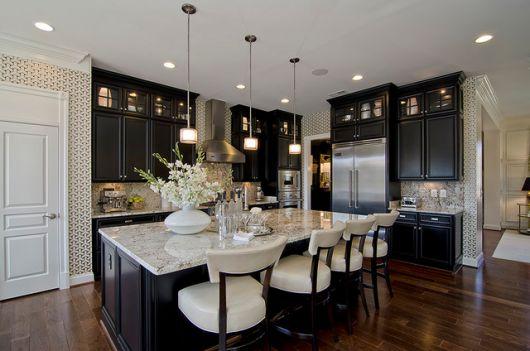 pendentes são os mais utilizados nas cozinhas