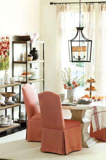 Lustre ideal para salas provençais ou românticas