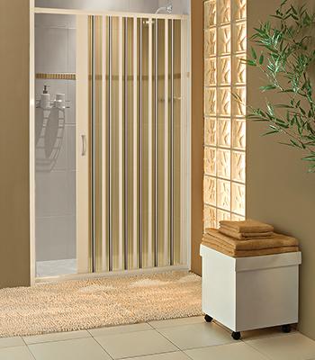 Exemplo de uso da porta translúcida em banheiros