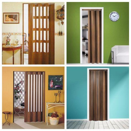 Dicas e mais de 80 modelos incríveis para você escolher a porta sanfonada ideal para seu projeto!