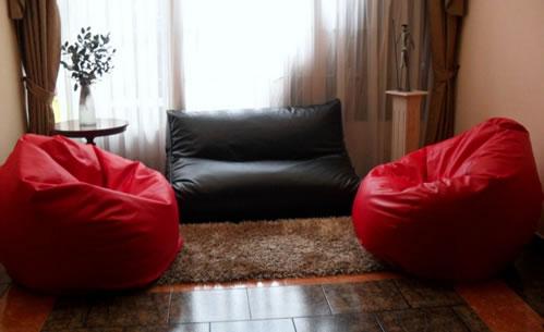 sala sem sofá