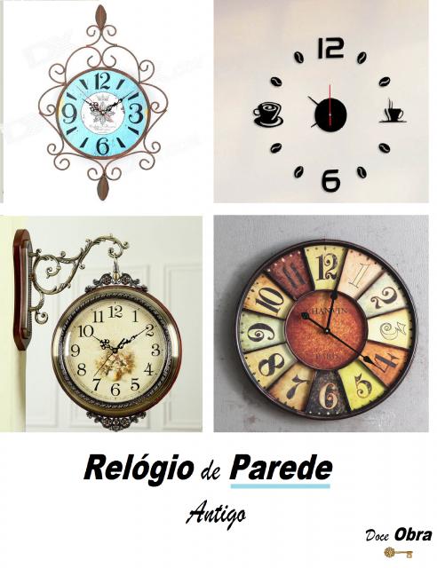 e56d02988ee Decoração com Relógio de Parede  + de 90 Ideias Incríveis com Dicas!