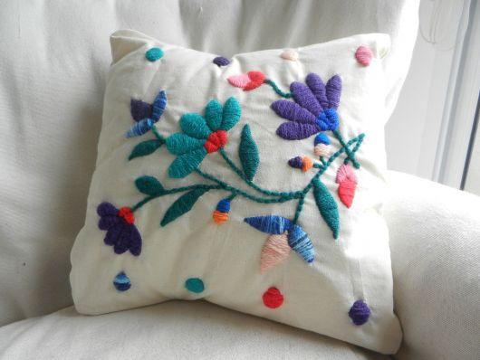 O bordado mexicano é ótimo para criar peças exclusivas