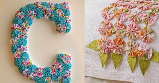 Dicas de artesanatos feitos com retalhos de tecidos