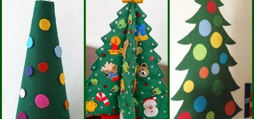 Árvore de Natal de EVA inspirações