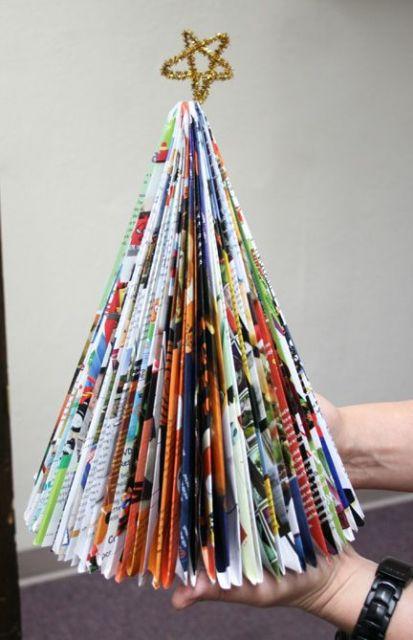 árvore de revista dobrada