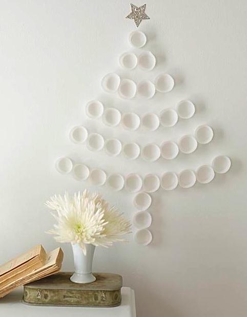 decoração natalina vertical