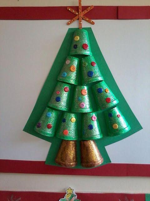 decoração de natal escola