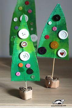 decoração com botões