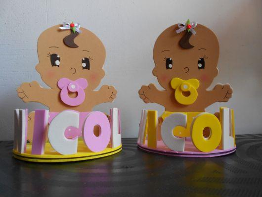 ideias criativas para Bebê de EVA