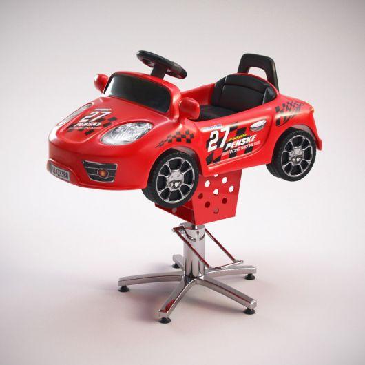 No maior estilo carro vermelho