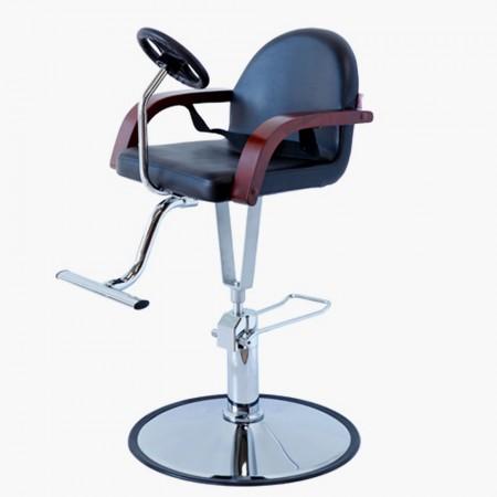 Cadeira alta no modelo vintage