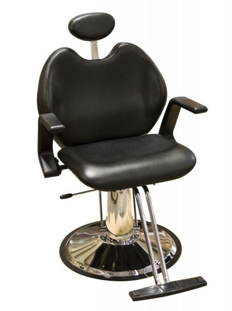 Cadeira de barbeiro acessível para qualquer salão