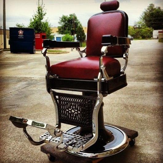 Para quem procura um modelo de cadeira de barbeiro super elegante