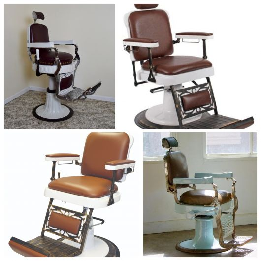 50 modelos impecáveis de cadeira de barbeiro ideais para seu comércio!