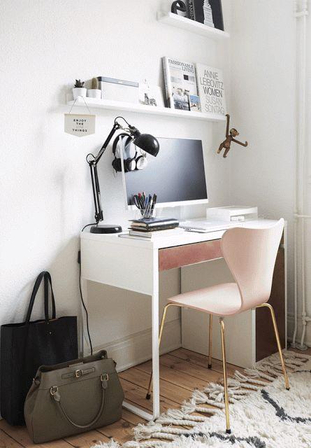cadeira simples rosa