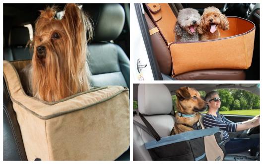 As cadeirinhas para cães são seguras, assim como as próprias para crianças