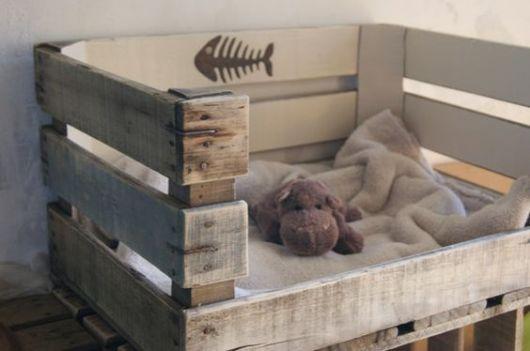 ideia de cama de madeira