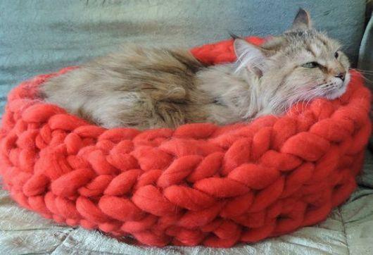 cama de tricô