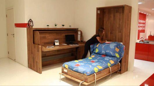 cama rústica