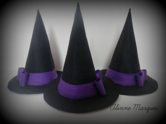 Chapéu de EVA bruxa