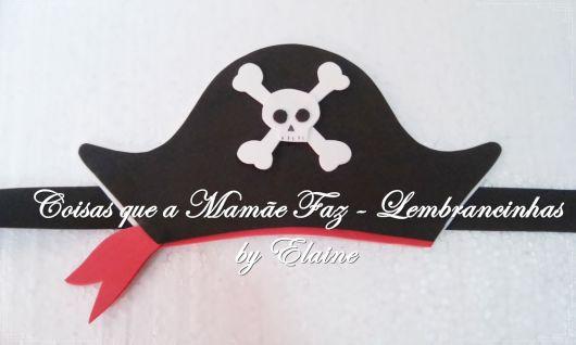 Chapéu de EVA pirata