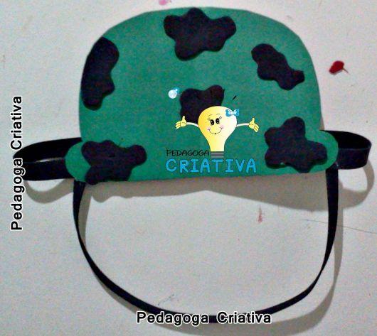 Chapéu de EVA de soldado