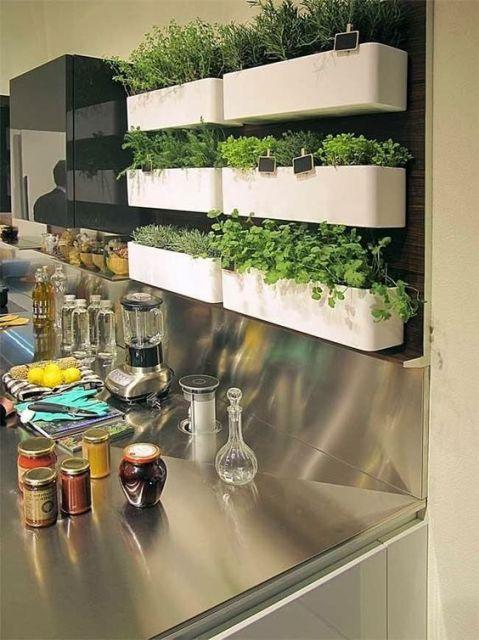 horta cozinha moderna