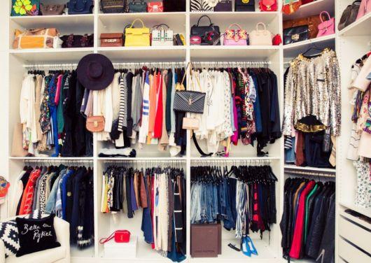 como organizar guarda-roupas