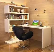 escrivaninha moderna com estante