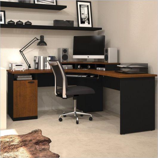 modelo escrivaninha preta