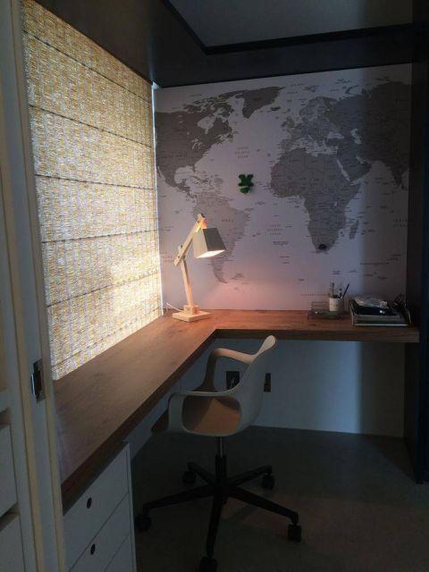 escrivaninha planejada escritório