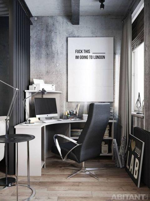 escrivaninha moderna escritório