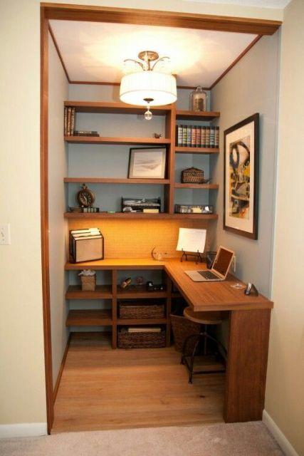 móvel escritório pequeno