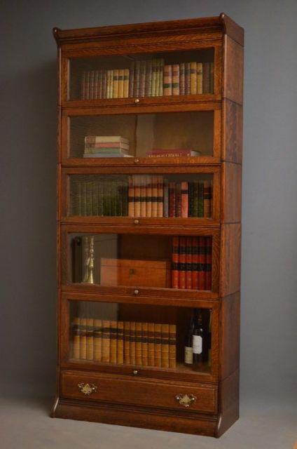 Modelo de estante de madeira para recriar ambientes vintage