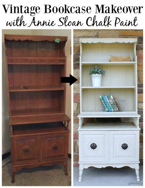Veja dica para restaurar uma estante antiga e transformá-la assim em uma peça perfeita para decorar
