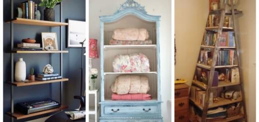 Quer estilo para sua casa? Então que tal investir em estantes retrô?