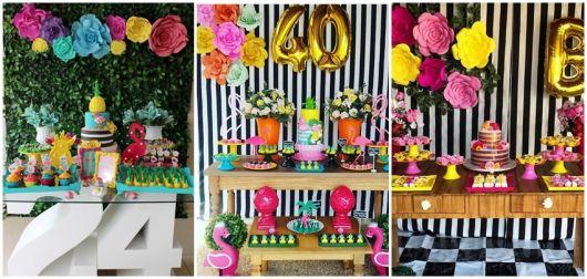 decoração aniversário feminino