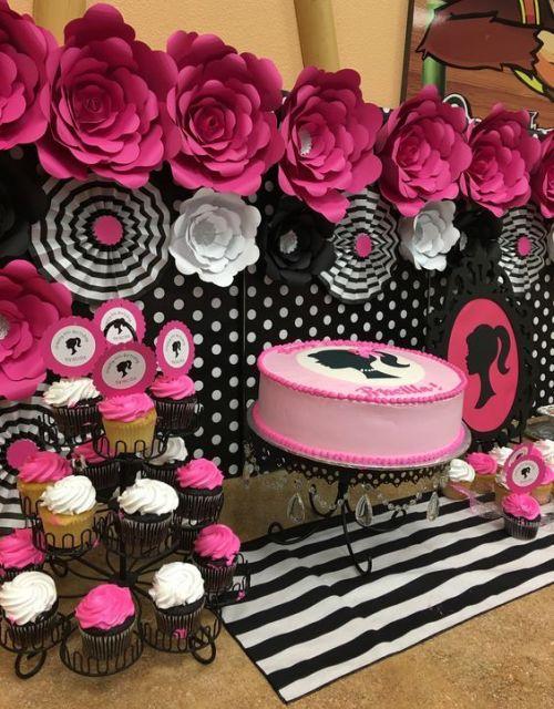 festa de aniversário Barbie