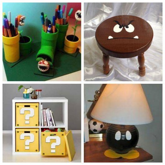 Mario Broz é uma forte inspiração para decorar um quarto nerd