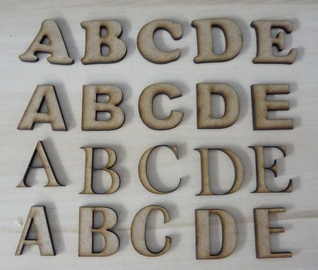 letras em mdf pequenas.