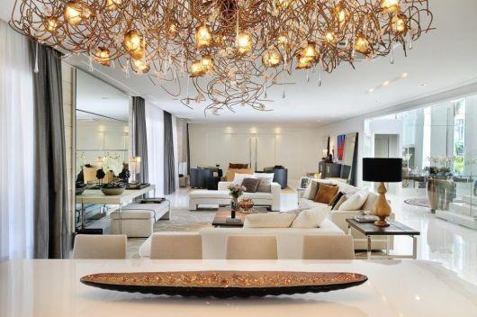 luminárias modernas lustre lindo