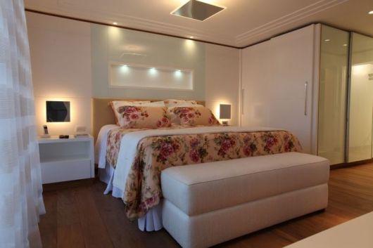 luminárias modernas para quarto de casal