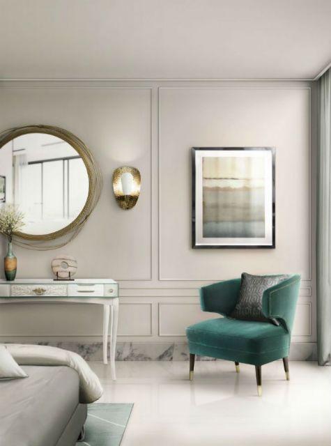 Uma poltrona colorida pode servir para inovar a decoração do quarto