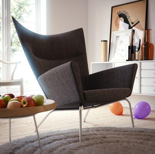 Dica de poltrona para salas minimalistas