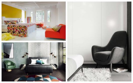 Ideias de quartos com poltronas