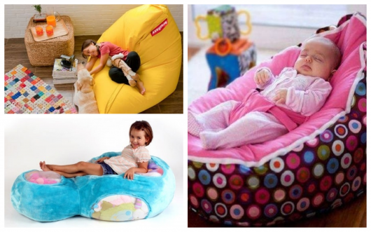 O puff infantil ajuda a proporcionar conforto ao ambiente