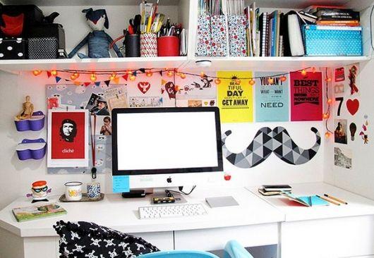 Até seu ambiente de trabalho e estudos pode ser personalizado
