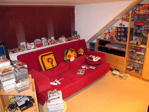 Geralmente esses modelos de quartos contam com muitos itens diferentes