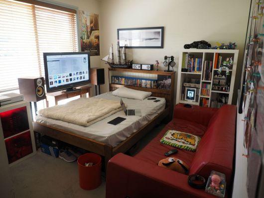 Um espaço totalmente adaptado para os nerds